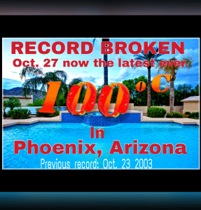 record-breaking temp